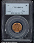 Lincoln Cents: , 1913 1C, RD