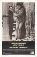 "Movie Posters:Academy Award Winner, Midnight Cowboy (United Artists, 1969). One Sheet (27"" X 41""). Thisfilm was one of the major hits of 1969 winning Oscars fo..."