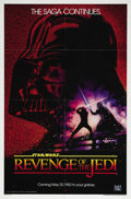 "Movie Posters:Science Fiction, Revenge of the Jedi (20th Century Fox, 1982). One Sheet (27"" X 41"")Advance. This is the legendary teaser one sheet poster f..."
