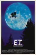 "Movie Posters:Science Fiction, E.T. The Extra-Terrestrial (Universal, 1982). One Sheet (26.75"" X40.25""). This magical poster uses the famous image of E.T...."