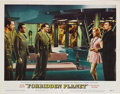 "Movie Posters:Science Fiction, Forbidden Planet (MGM, 1956). Lobby Cards (2) (11"" X 14""). Based onShakespeare's play ""The Tempest,"" this film was MGM's fi... (Total:2 Items)"