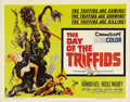 """Movie Posters:Science Fiction, The Day of the Triffids (Allied Artists, 1960). Half Sheet (22"""" X28""""). Based on John Wyndham's novel, this thriller found a..."""