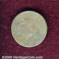 Undated (1694) Elephant Token VG 10. Thick Flan. Breen-186, Peck-503. 224.2 grains. This coin was previously offered as...