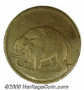 Undated (1694) London Elephant Token VF 20. Thick Planchet (2.7 mm). 227.0 grains. Breen-186. The surfaces are a pleasin...
