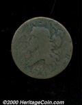 1793 1/2 C AG 3 Corroded. B-3, C-3, R.3. A low grade specimen with pitted surfaces on each side. The major design elemen...