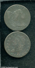 Large Cents: , Multiple Coin Lot...