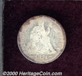 1874-CC 10C Arrows AG 3 Corroded. The heavily worn surfaces are dark and display microscopic pitting and granular charac...