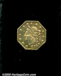 California Fractional Gold: , 1853 50C BG-302 PCK