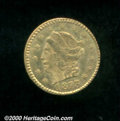 California Fractional Gold: , 1873 25C BG-817
