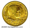 Commemorative Gold: , 1922 G$1 GRANTST