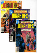 Bronze Age (1970-1979):Western, Jonah Hex Group (DC, 1980-85) Condition: Average VF+.... (Total: 8 Comic Books)