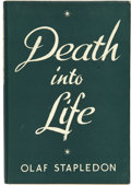 Books:First Editions, Olaf Stapledon. Death Into Life....