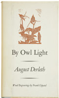 Books:First Editions, August Derleth. By Owl Light....