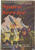 Books:First Editions, Andre Norton, editor. Space Service....