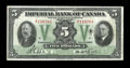 Canadian Currency: , Toronto, ON- Imperial Bank of Canada $5 Nov. 1, 1933 Ch. #375-20-02. ...