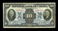 Canadian Currency: , Toronto, ON- Imperial Bank of Canada $10 Nov. 1, 1933 Ch. #375-20-04. ...