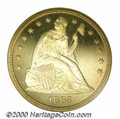 Proof Seated Dollars: , 1865 S$1
