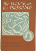 Books:First Editions, H. P. Lovecraft and August Derleth. The Lurker at theThreshold....
