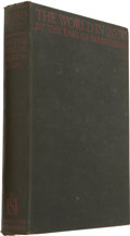 Books:First Editions, Earl of Birkenhead [Frederick Edwin Smith]. The World in 2030A.D....