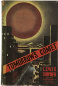 Books:First Editions, Lewis Sowden. To-morrow's Comet....