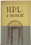 Books:First Editions, August Derleth. H. P. L.: a memoir....