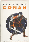 Books:First Editions, Robert E. Howard and L. Sprague de Camp. Tales of Conan....