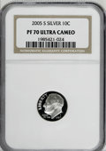 Proof Roosevelt Dimes: , 2005-S 10C Silver PR70 Deep Cameo NGC. PCGS Population (76/0).Numismedia Wsl. Price for NGC/PCGS coin ...