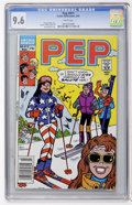 Modern Age (1980-Present):Humor, Pep Comics #411 (MLJ , 1987) CGC NM+ 9.6 White pages....
