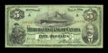 Canadian Currency: , Montreal, PQ- The Merchants Bank of Canada $5 Feb. 1, 1906 Ch. #460-16-02. ...