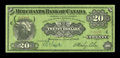 Canadian Currency: , Montreal, PQ- The Merchants Bank of Canada $20 June 1, 1907 Ch. #460-16-06. ...