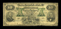 Canadian Currency: , Montreal, PQ- The Molsons Bank $10 July 3, 1899 Ch. # 490-22-30....