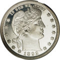 Proof Barber Quarters, 1892 25C PR68 Deep Cameo PCGS. CAC....