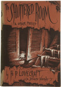 Books:First Editions, H. P. Lovecraft. The Shuttered Room and Other Pieces....