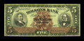 Canadian Currency: , Montreal, PQ- The Molsons Bank $5 Jan. 2, 1903 Ch. # 490-26-02. ...