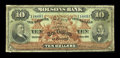 Canadian Currency: , Montreal, PQ- The Molsons Bank $10 May 2, 1904 Ch. # 490-26-08. ...