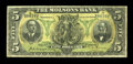 Canadian Currency: , Montreal, PQ- The Molsons Bank $5 Oct. 2, 1905 Ch. # 490-28-04. ...