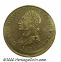 """1783"" Washington & Independence Cent--10% Off Center--XF 45 PCGS. Baker-2, R.1. Extra flan shows at t..."
