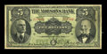 Canadian Currency: , Montreal, PQ- The Molsons Bank $5 July 2, 1918 Ch. # 490-38-02. ...