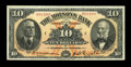 Canadian Currency: , Montreal, PQ- The Molsons Bank $10 July 2, 1918 Ch. # 490-38-04....