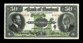 Canadian Currency: , Montreal, PQ- The Bank of Montreal $50 Nov. 3, 1914 Ch. #505-54-16. ...