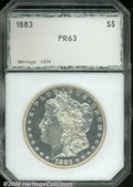 Additional Certified Coins: , 1883 S$1