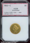 Additional Certified Coins: , 1852-C $5