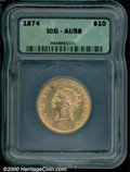 Additional Certified Coins: , 1874 $10
