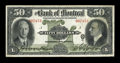 Canadian Currency: , Montreal, PQ- The Bank of Montreal $50 Jan. 2, 1931 Ch. #505-58-08. ...