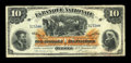 Canadian Currency: , Quebec, PQ- La Banque Nationale $10 Jan. 2, 1897 Ch. # 510-20-08....