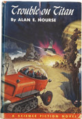 Books:First Editions, Alan E. Nourse. Trouble on Titan....