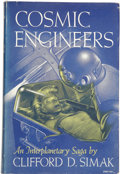 Books:First Editions, Clifford D. Simak. Cosmic Engineers....