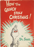 Books:First Editions, Dr. Seuss [Theodor Geisel]. How the Grinch StoleChristmas....