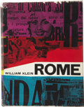 Books:First Editions, William Klein. Rome: The City and Its People....