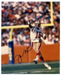 Football Collectibles:Balls, Joe Montana Single Signed Photograph. One of the greatest backfield generals in NFL history, Joe Montana has autographed th...